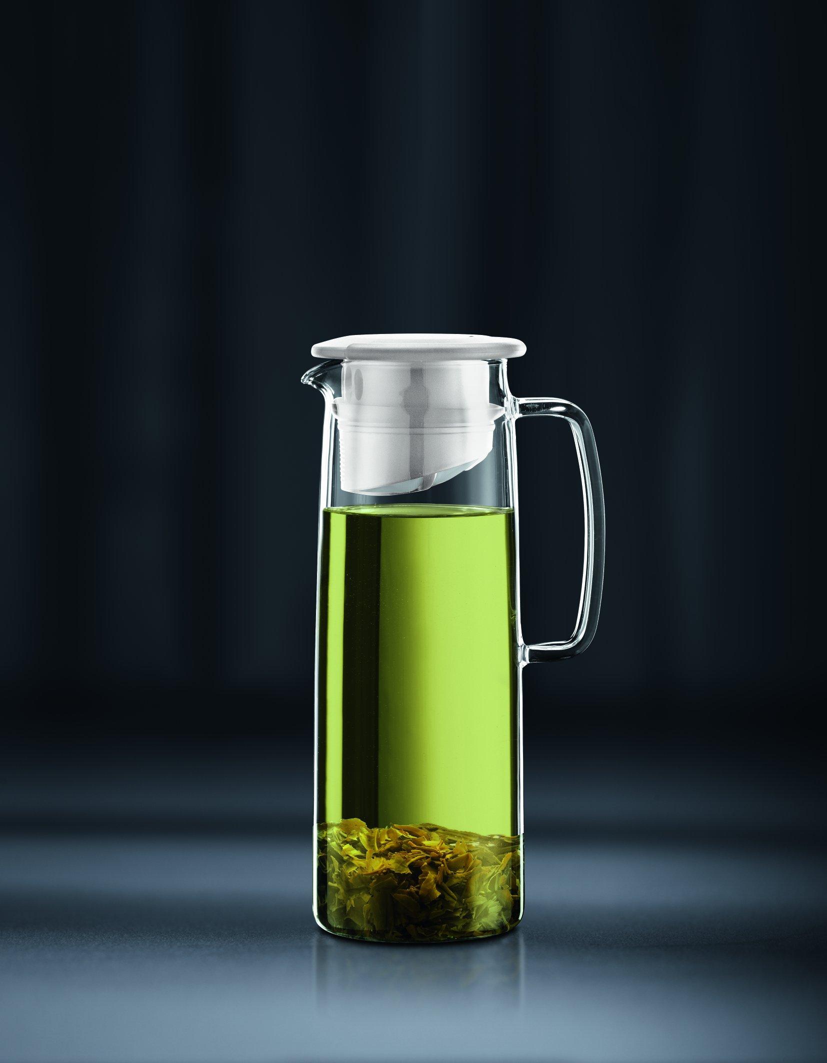 Bodum Biasca Ice Green Tea Jug, 40 oz, White by Bodum (Image #2)