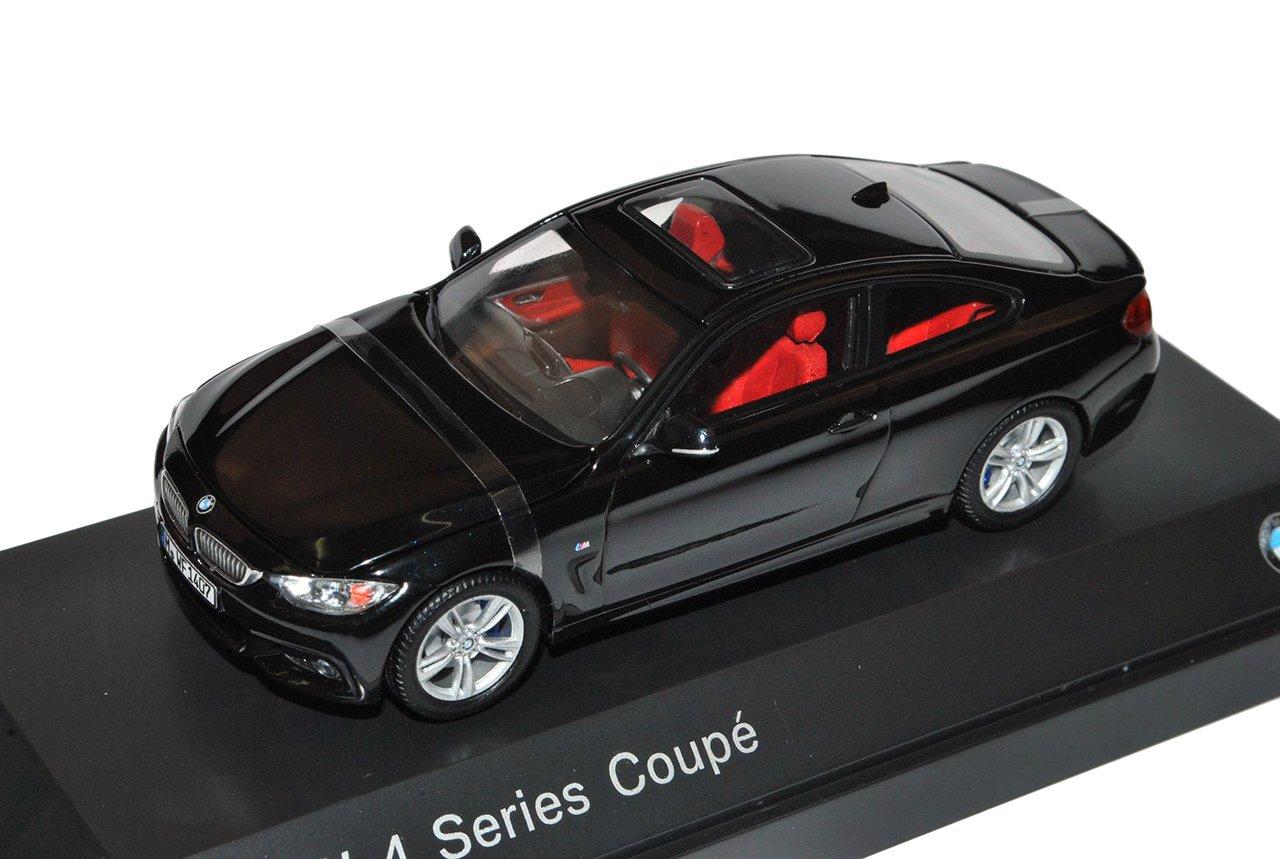 Kyosho BMW 4er Coupe M F32 Schwarz AB 2014 1/43 Modell Auto mit individiuellem Wunschkennzeichen
