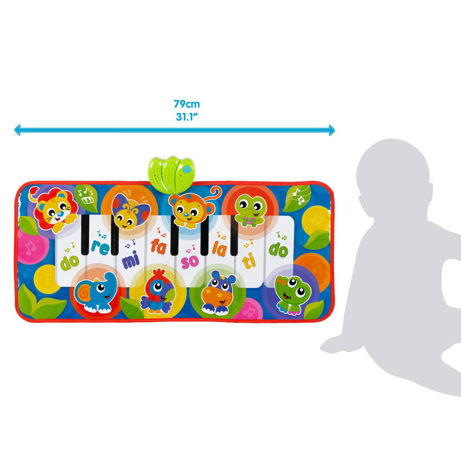 Great Start for a World of Learning Playgro Jumbo Jungle Musical Piano Mat for Baby Infant Toddler Child 0186995 Playgro is Encouraging Imagination with STEM//STEM for a Bright Future