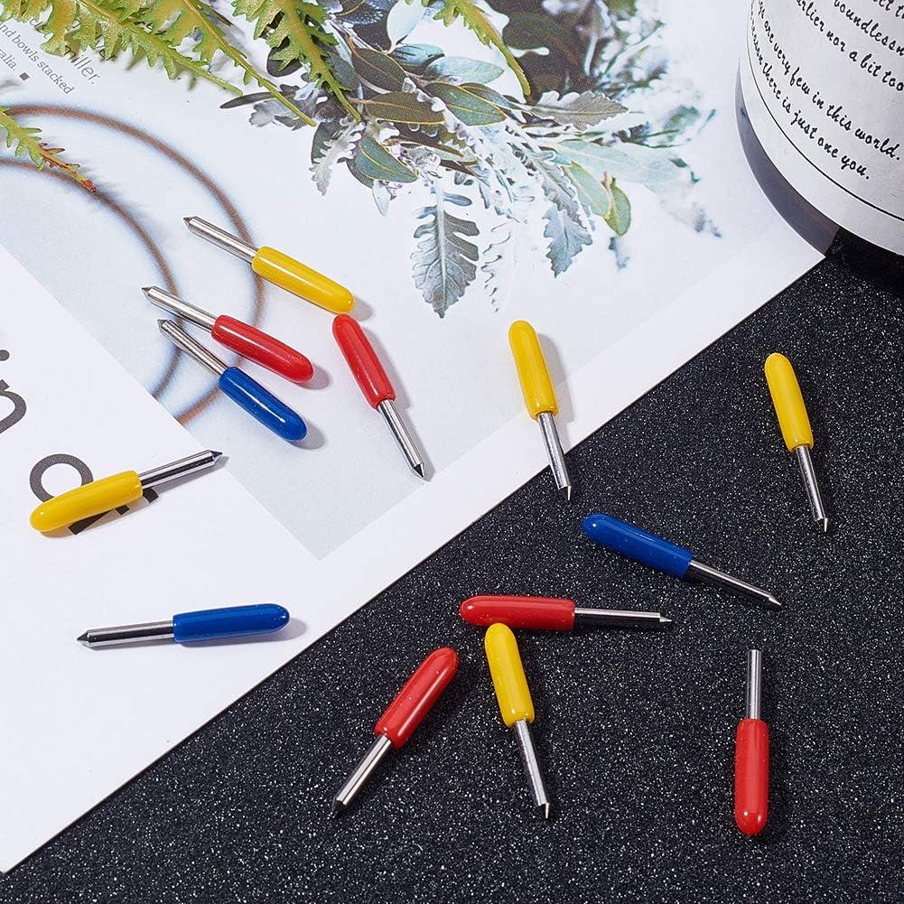 NBEADS 15 PCS Carbide 45 Deg Cuchillos de Letras para Computadora ...