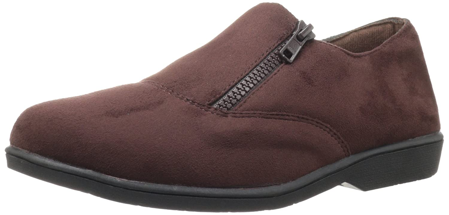 Propet Women's Shannon Loafer B007M095YI 7 N US|Brown Velour