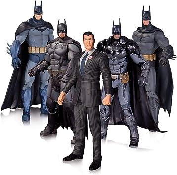 Arkham Batman Action Figure 5 Pack: DC Direct: Amazon.es: Juguetes ...