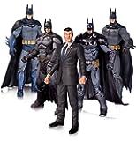 DC Comics Collectable Toy Playset - Batman Arkham Collectors 7 Inch Action Figure 5 Pack