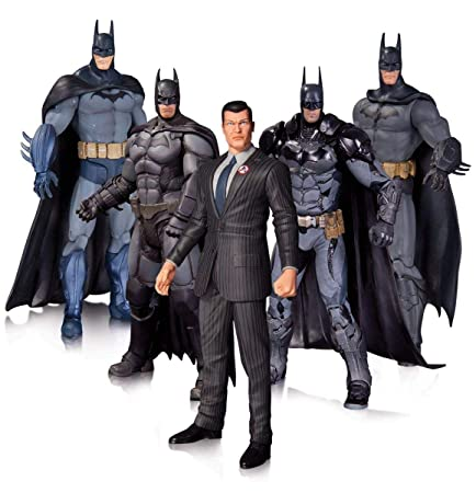 Toy Zany Arkham Batman Action Figure 5 Pack