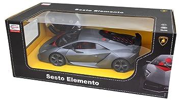 Exceptional Rastar Radio Remote Control Lamborghini Sesto Elemento Race Car Model 1:14  Scale