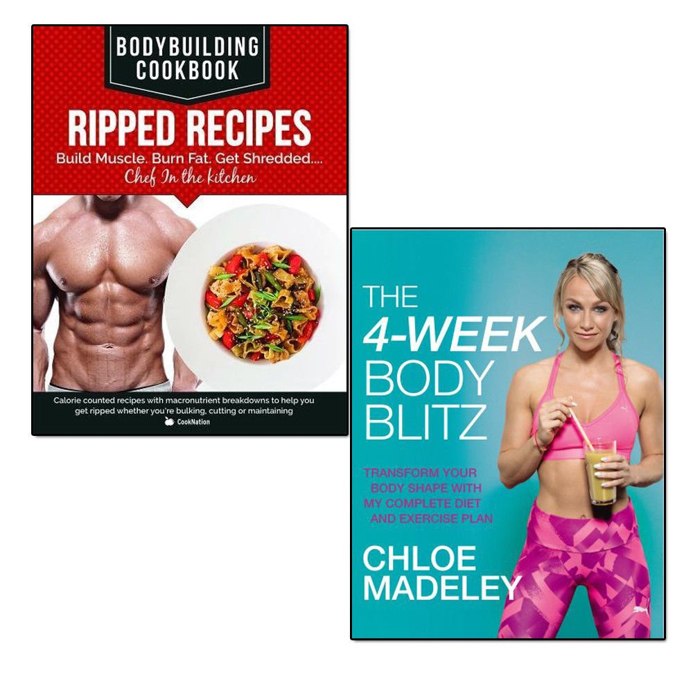 the 4-week body blitz and bodybuilding cookbook ripped recipes 2