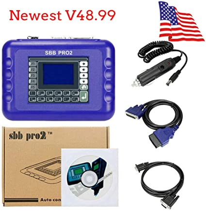 Yusell V48.99 Sbb Pro2 Autoschl/üssel Programmierer Mehrsprachiger Smart Remote Transponder G Chip
