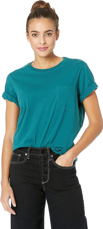 cba108c933b Richer Poorer Women s Crew Short Sleeve Athletic Shirt at Amazon Women s  Clothing store