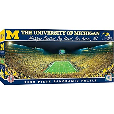The University of Michigan 1000pc Pano Puzzle: Sports & Outdoors