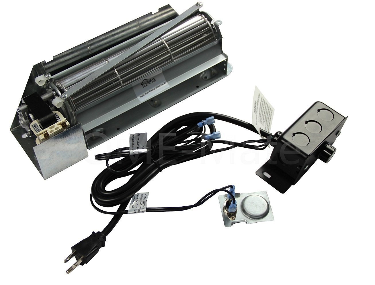 Fbk 250 Gas Fireplace Blower Fan Kit For Lennox Superior Rotom Hb Rb250 Ebay