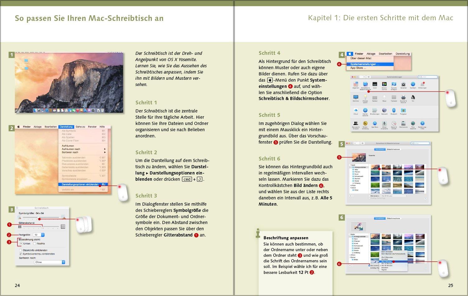 Schreibtisch Len der mac 9783842101753 amazon com books