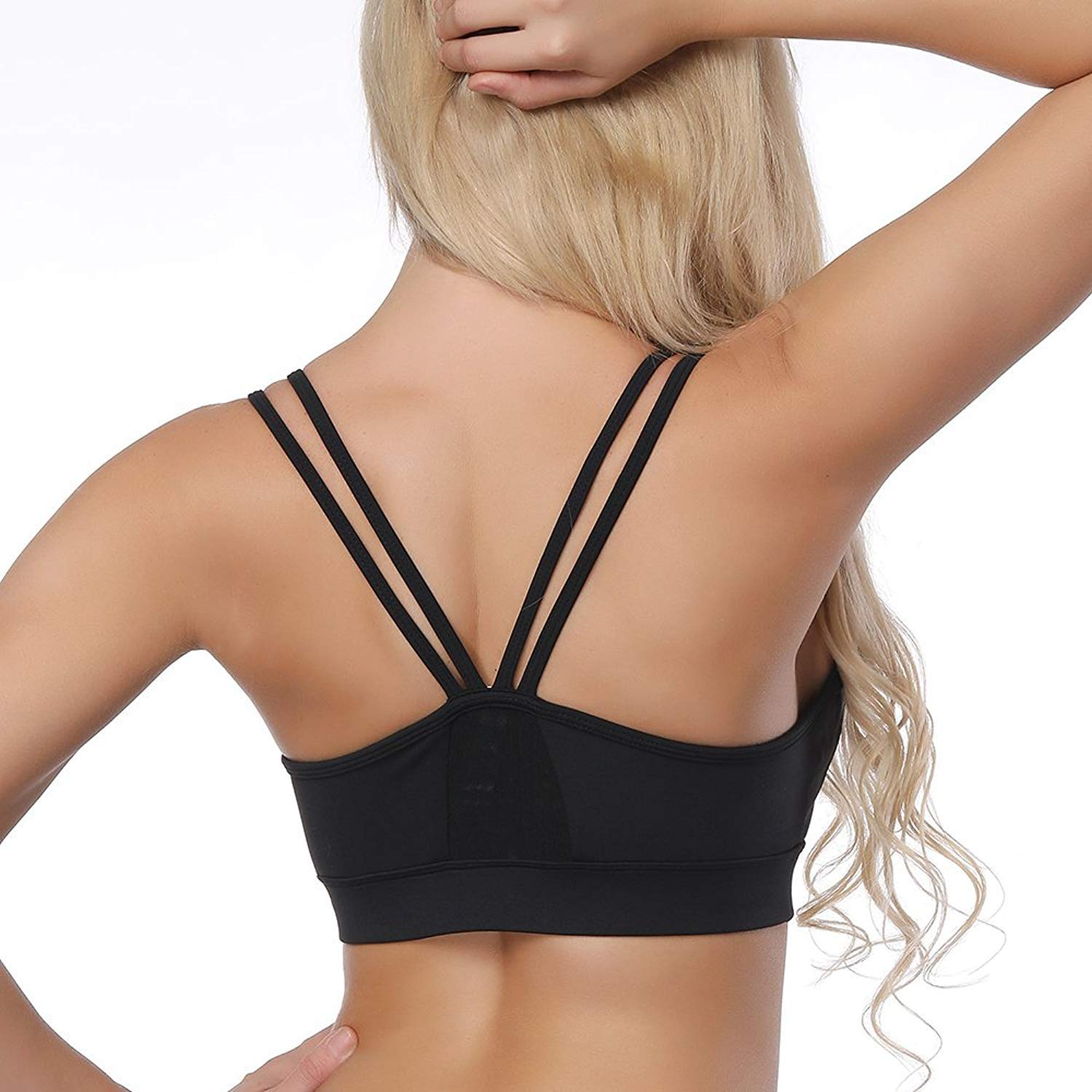 e007671557 ☆Please Measure Yoga Bras Size Fit Your Size Before Order And Refer To Uur  Size Chart On The Product Iimage. ☆Yadifen Running Sports Bras For Womens  ...