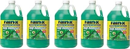 RainX RX68806 Rain-X Bug Remover FHWlOT, 5Pack