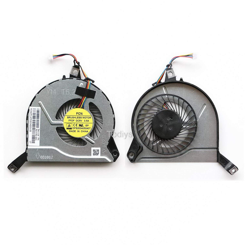 Ventilador CPU HP Pavilion 15-P 15T-P 15Z-P 15-P000 Series 15-P0
