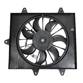 Motor del ventilador de refrigeración del radiador hoja izquierda LH conductor para Chrysler PT Cruiser Turbo