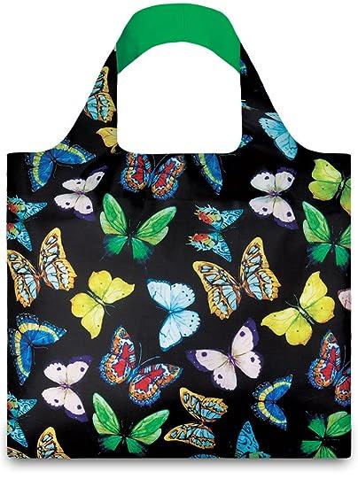 LOQI WILD Butterflies Bag - Einkaufstasche