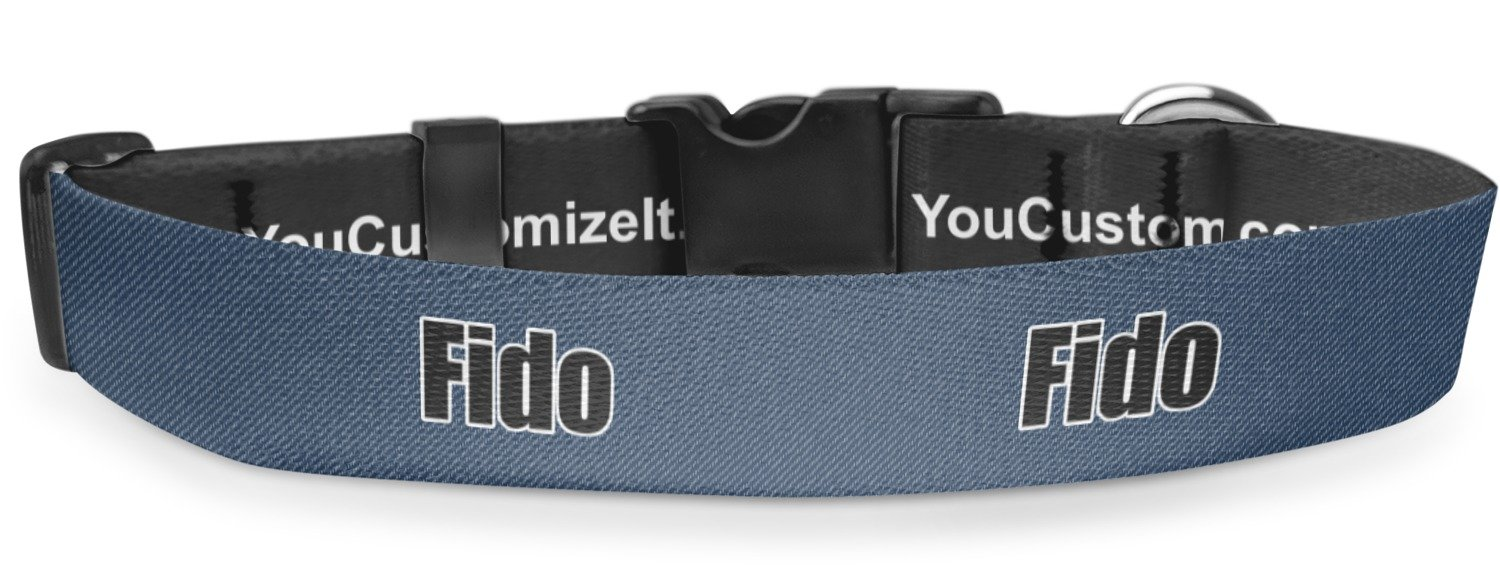 RNK Shops American Quotes Deluxe Dog Collar - Toy (6'' to 8.5'') (Personalized)