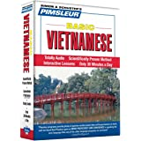 Pimsleur Vietnamese Basic Course - Level 1 Lessons 1-10 CD: Learn to Speak and Understand Vietnamese with Pimsleur Language Programs