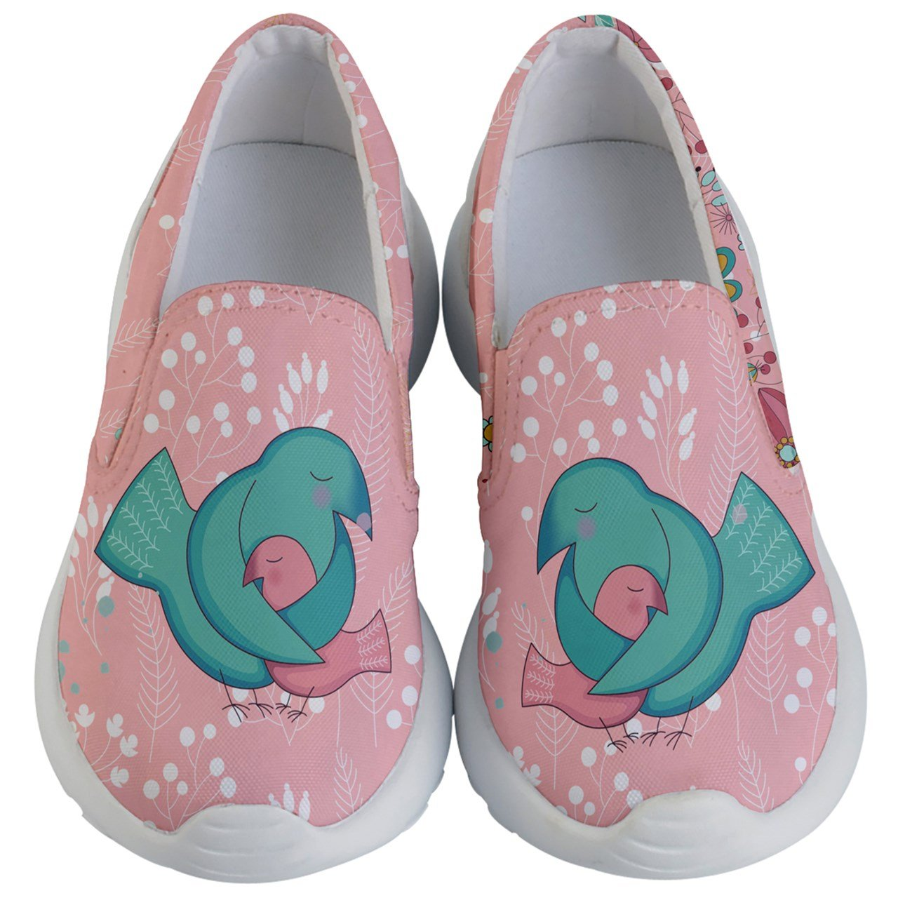 PattyCandy Girls Love Of Parent Dove Kids' Lightweight Slip Ons - US 8C
