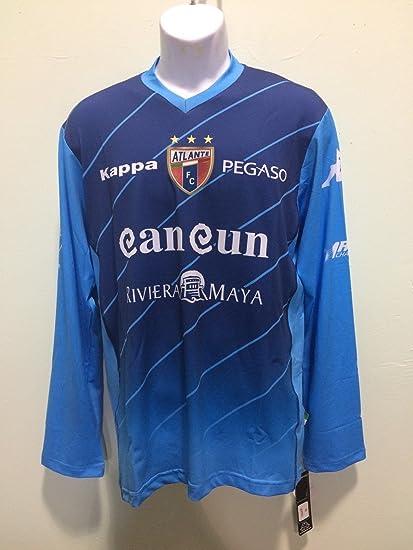 Atlante jersey Kappa potros de hierro playera seleccion mexicana manga  larga (XL) d5fbdd6c254a0