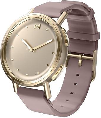 Misfit MIS5023 Path Smartwatch en Tono Dorado con Correa de Lavanda Deportiva: Amazon.es: Relojes