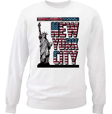teesquare1st New York City USA NYC Sudadera Size Small