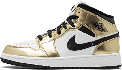 Jordan Kid's Shoes Nike Air 1 Mid SE (GS) Metallic Gold DC1420-700