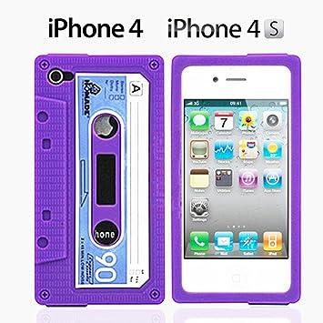 coque iphone 4 cassette