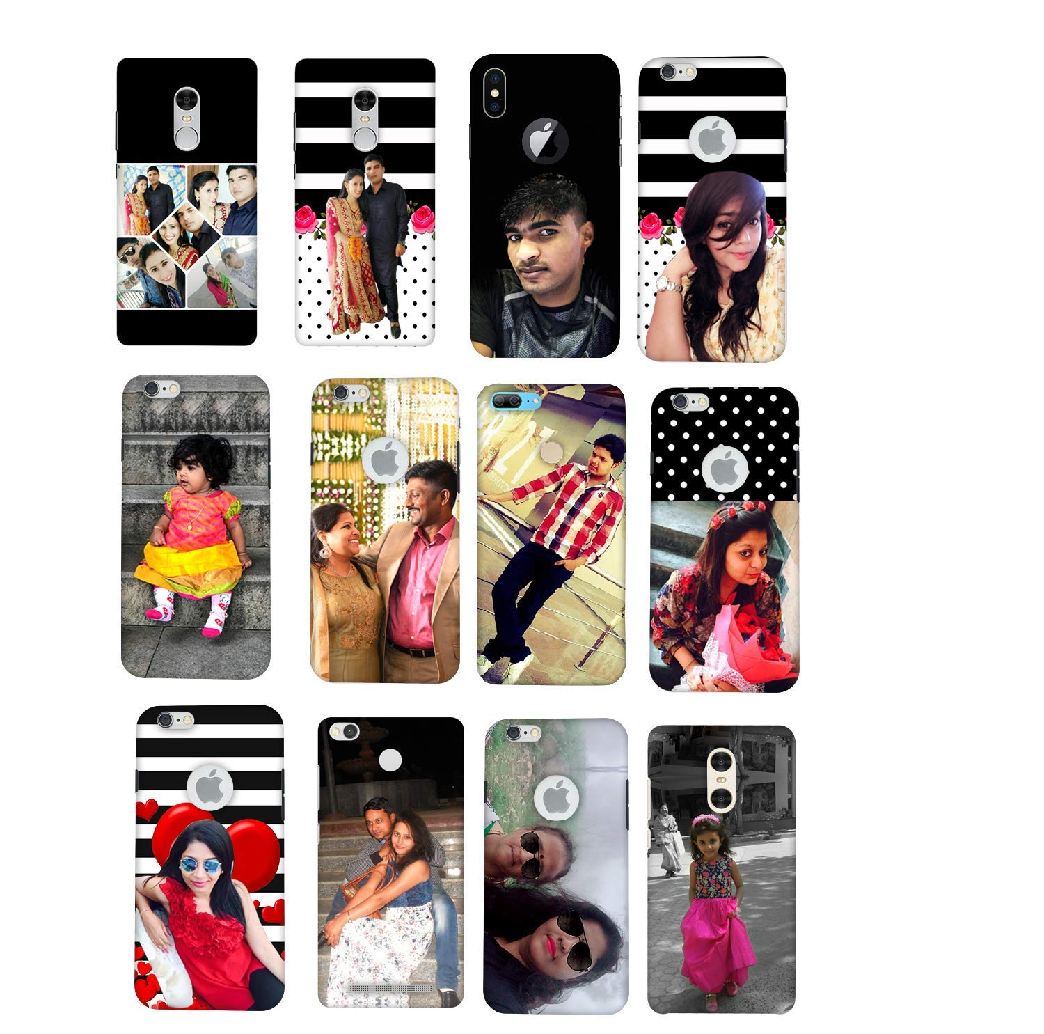 innovative design d8b96 fd8b5 CELKASE Personalized Your Own Photos Printed Mobile Case Back Cover for  Xiaomi, Redmi Note5 Pro