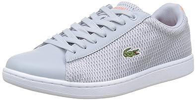 Evo Carnaby Grau Damen Schuhe Bässe Lacoste 1 217 q8WPEc6dR5