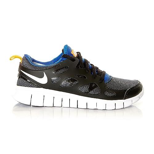 nike free run 2 (GS) running trainers 443742 sneakers shoes (uk 4.5 us 5Y  eu 37.5, black white total orange game royal 033): Amazon.co.uk: Shoes &  Bags