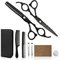 Professional Home Hair Cutting Kit - Quality Home Haircutting Scissors Barber/Salon/Home Thinning Shears Kit with Comb…
