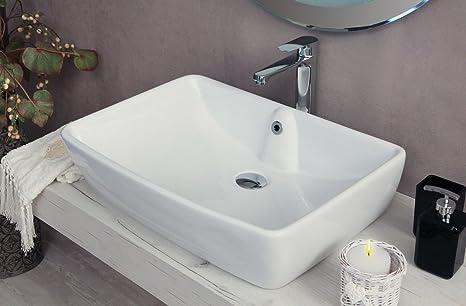 Yellowshop lavabo da appoggio cm bacinella lavandino