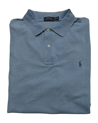 Polo Ralph Lauren Polo Shirt Men\u0027s Big and Tall Pique Cotton Polo Shirt (1X  Big