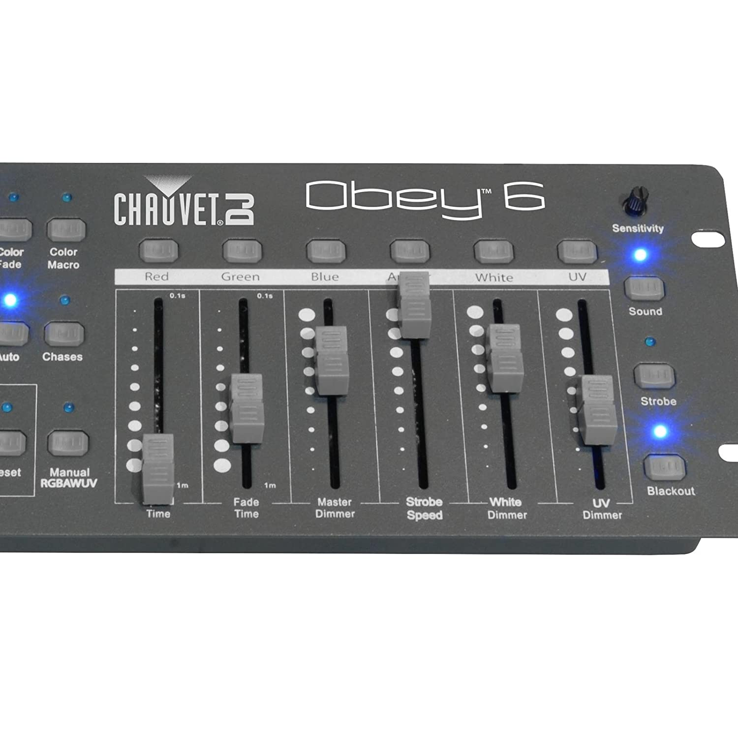 CHAUVET DJ Obey 6 Compact Universal LED Controller: Amazon.co.uk: Musical  Instruments