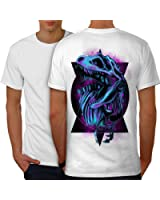 TRex Raptor Dinosaure jurassique Men S-5XL T-shirt le dos   Wellcoda