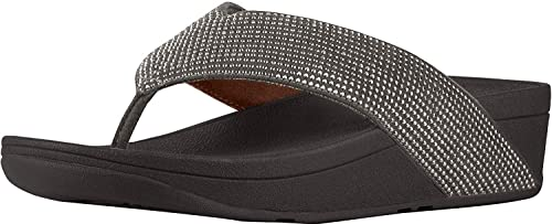 Amazon.com   FitFlop Ritzy Toe Thong Sandals Pewter 2 9   Sandals