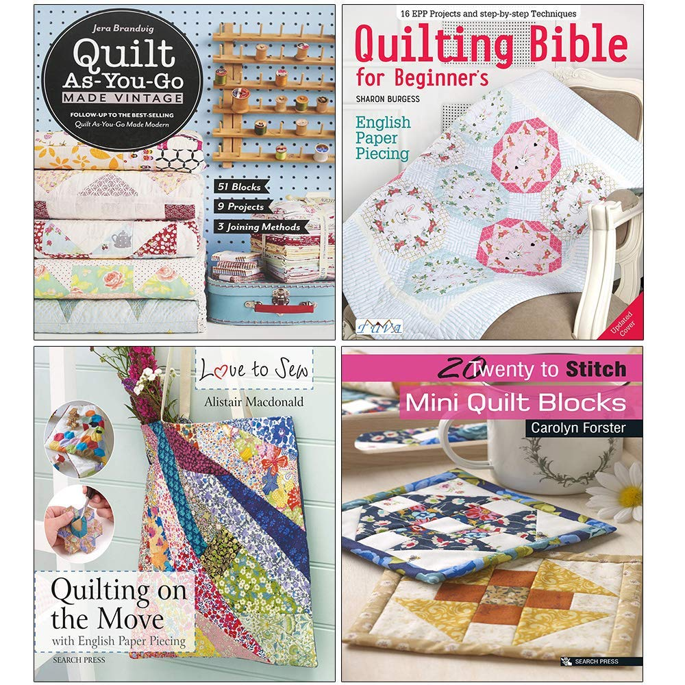 Quilting On The Go English Paper Piecing