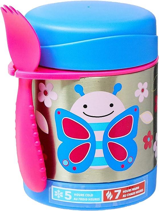Imagen deSkip Hop Zoo Butterfly - Tarro aislado del alimento, 325ml, 12m+