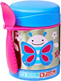 Skip Hop Baby Zoo Insulated Food Jar and Spork Set, Blossom Butterfly