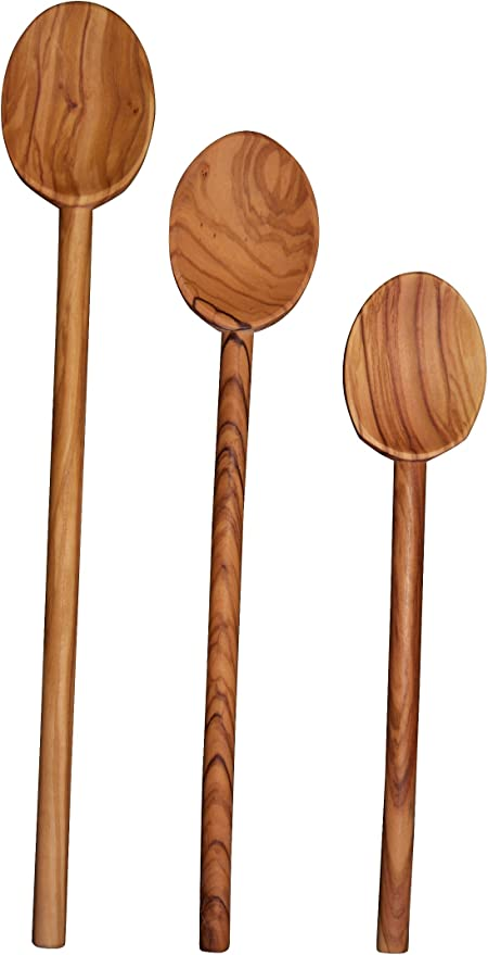 by Scanwood Cooking Spoon 10 inch Scanwood Olive Wood Spoon