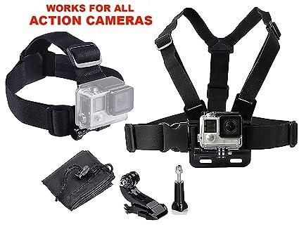 LONDON FAB Arneses para cámaras de acción, compatibles con GoPro y Todas Las cámaras de