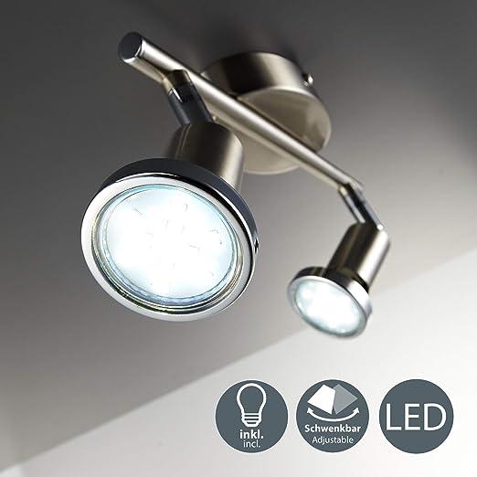 LED Decken Zimmer Strahler Lampe Rondell Bad Spot Energiespar Leuchte ANGEBOT !!