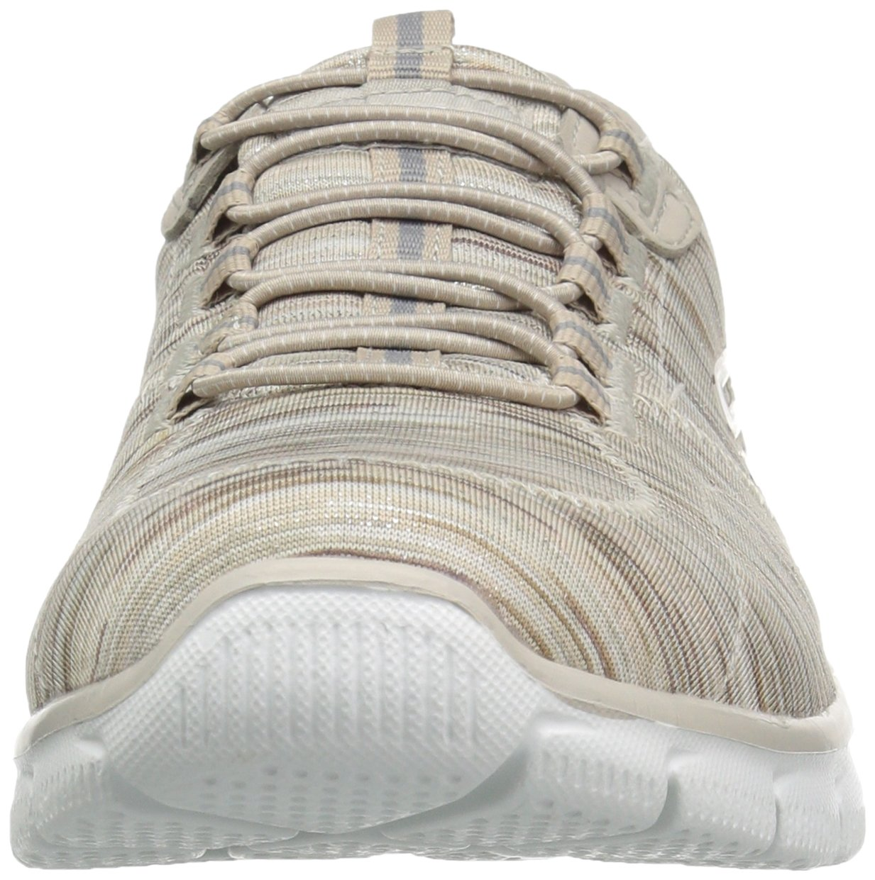 Skechers Women's Empire Game On Memory Foam Sneakers Shoes, Taupe, 6 B(M) US by Skechers (Image #4)