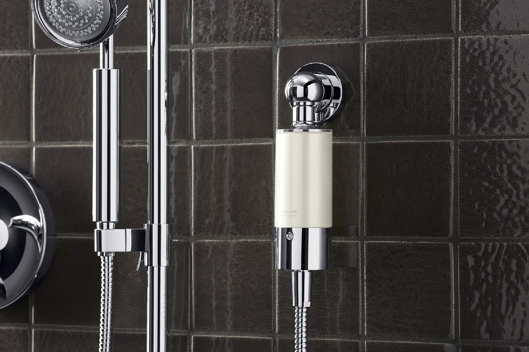 Kohler 30646-CP Aquifer Shower Water Filtration System, Reduce Chlorine and Odor, Includes Filter Replacement by Kohler (Image #7)