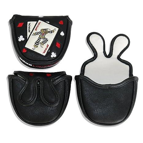 Artesano Golf negro mazo PUTTER cubierta Golf (cierre ...