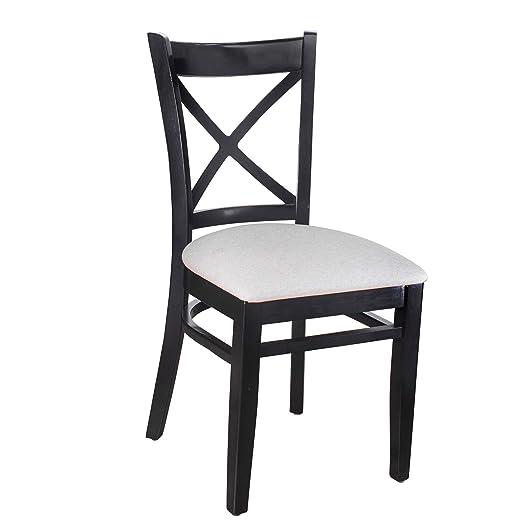 Moderno & Contemporáneo X-Back Sillas de Comedor Muebles de ...