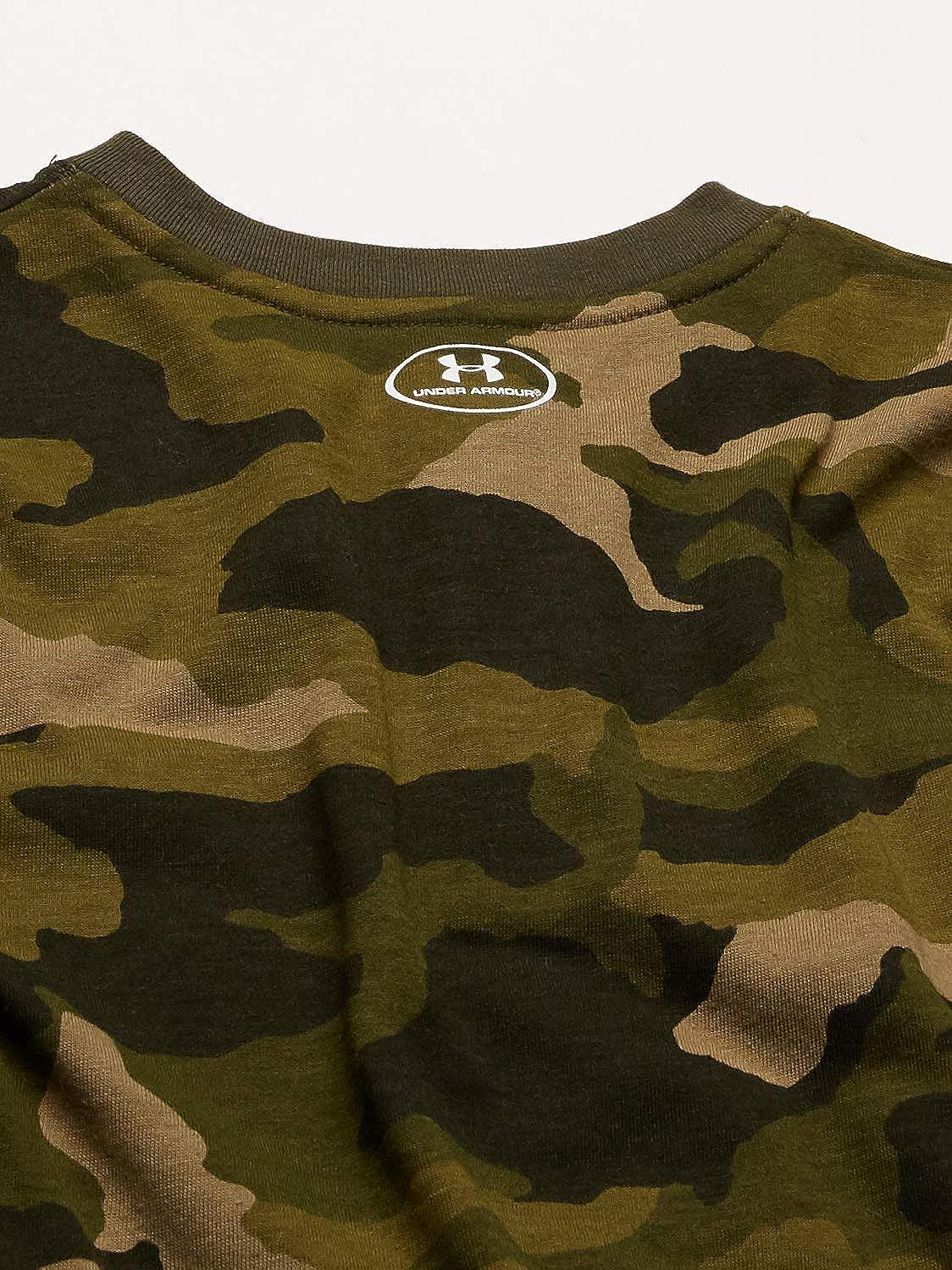 Under Armour Boys UA Colorblocked Henley LS