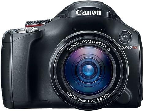 Canon PowerShot SX40 HS Cámara Puente 12.1MP 1/2.3