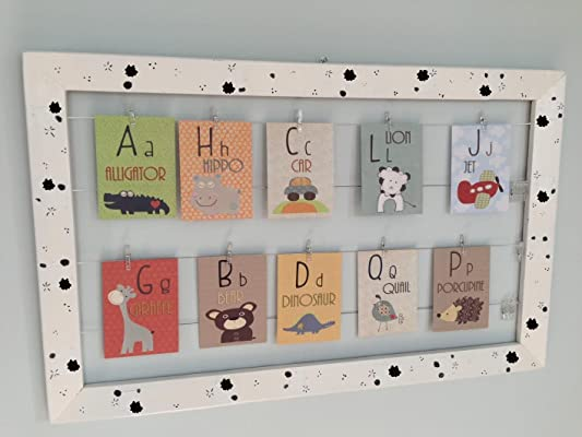 DesignByMaya Alphabet flesh cards A to Z